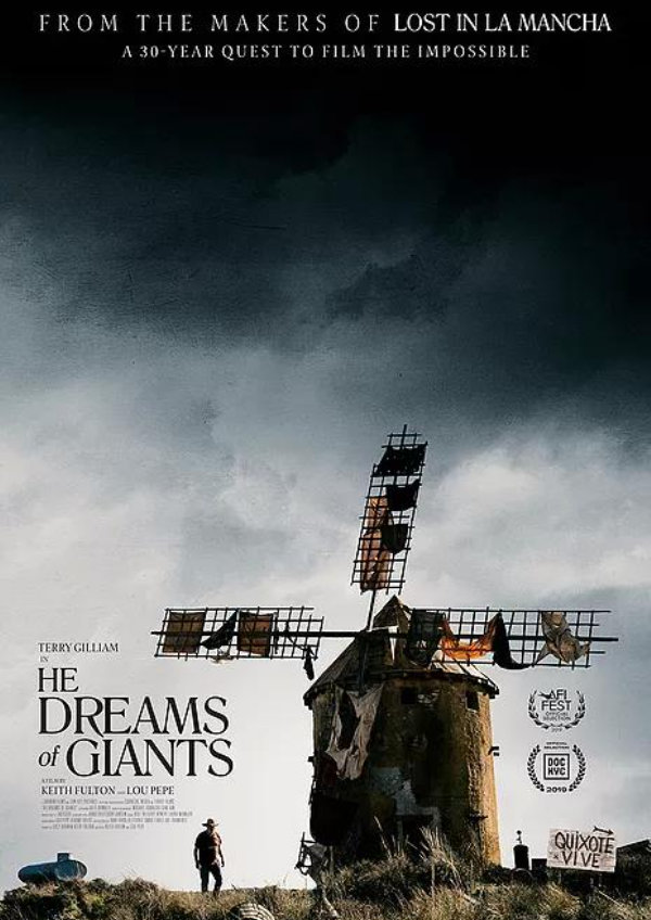 'He Dreams of Giants' movie poster