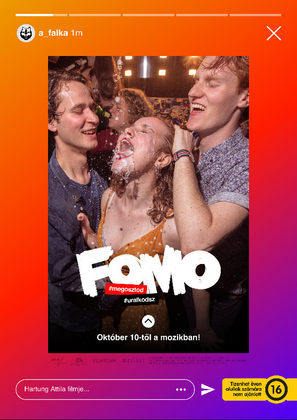 'FOMO: Fear of Missing Out' movie poster