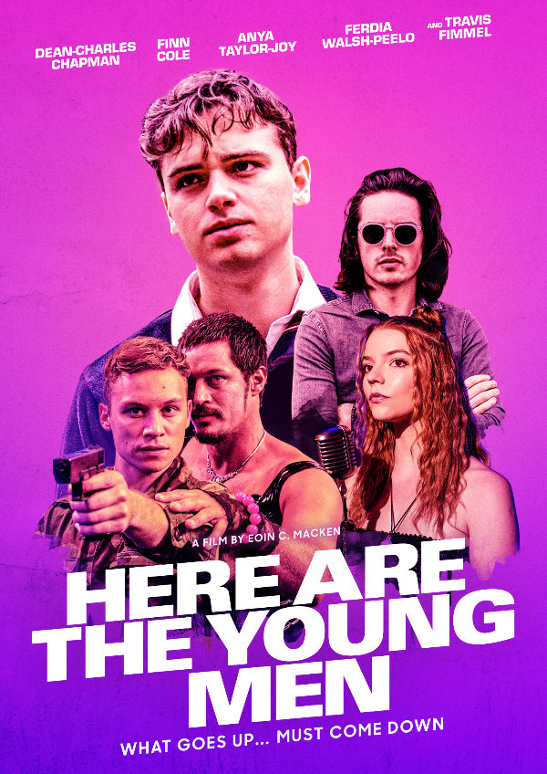 'Here Are the Young Men' movie poster