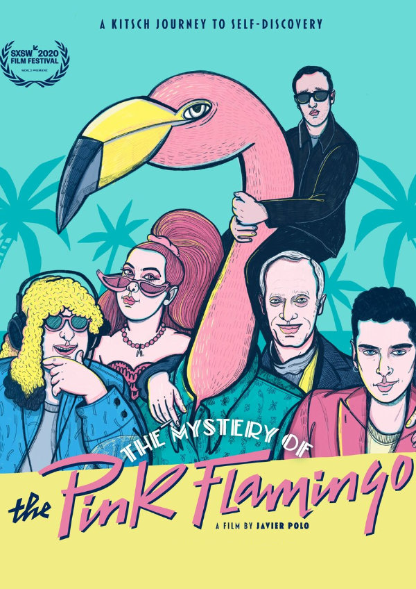 'The Mystery of the Pink Flamingo' movie poster