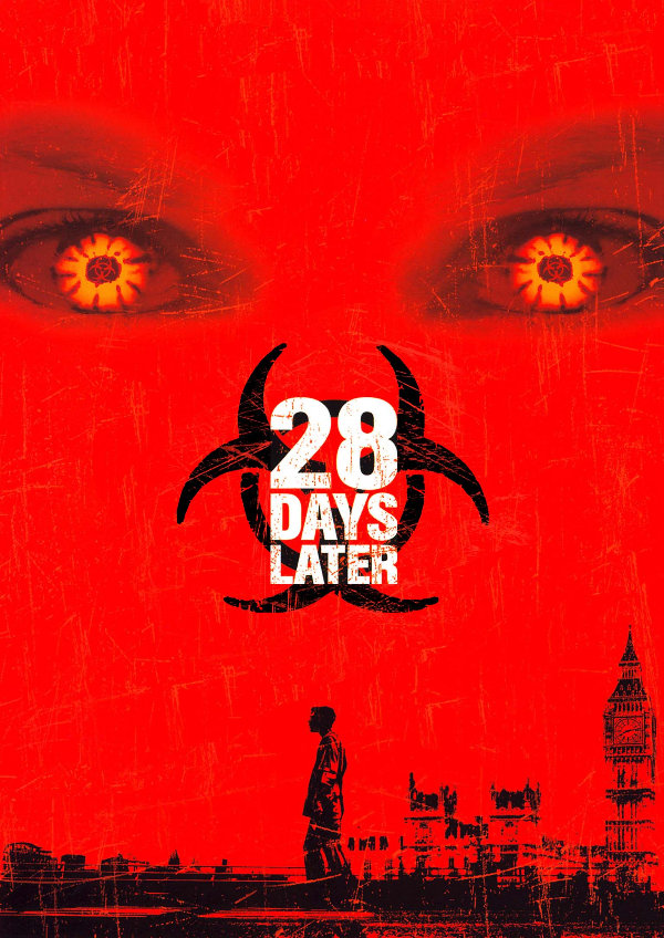 '28 Days Later' movie poster