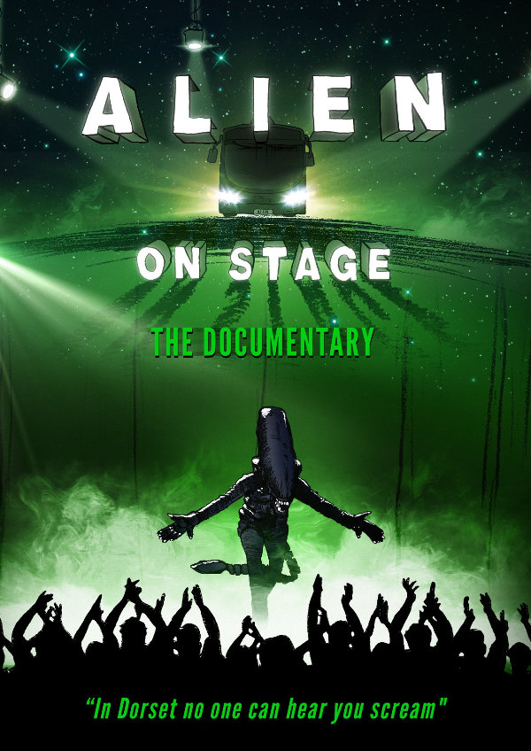 'Alien On Stage' movie poster