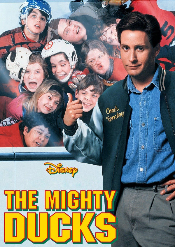 'The Mighty Ducks' movie poster