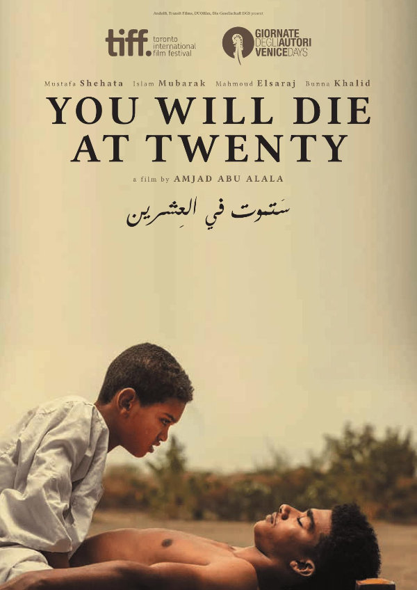 'You Will Die At Twenty' movie poster