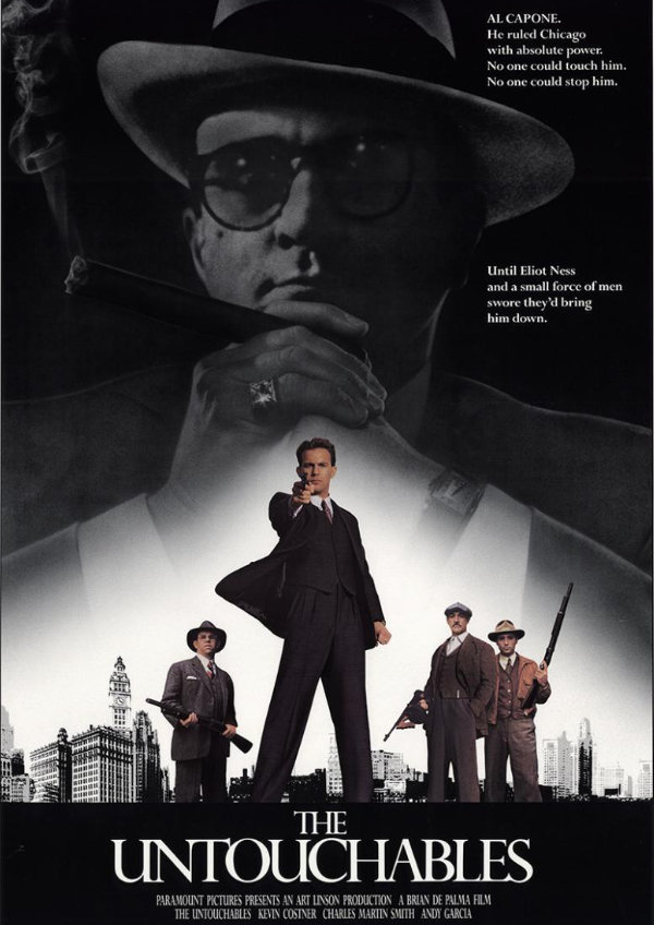 'The Untouchables' movie poster