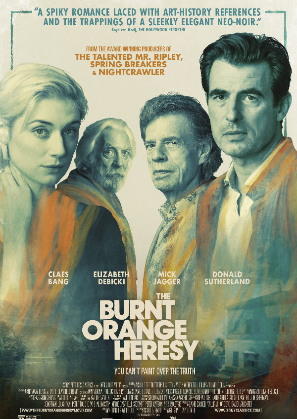 'The Burnt Orange Heresy' movie poster
