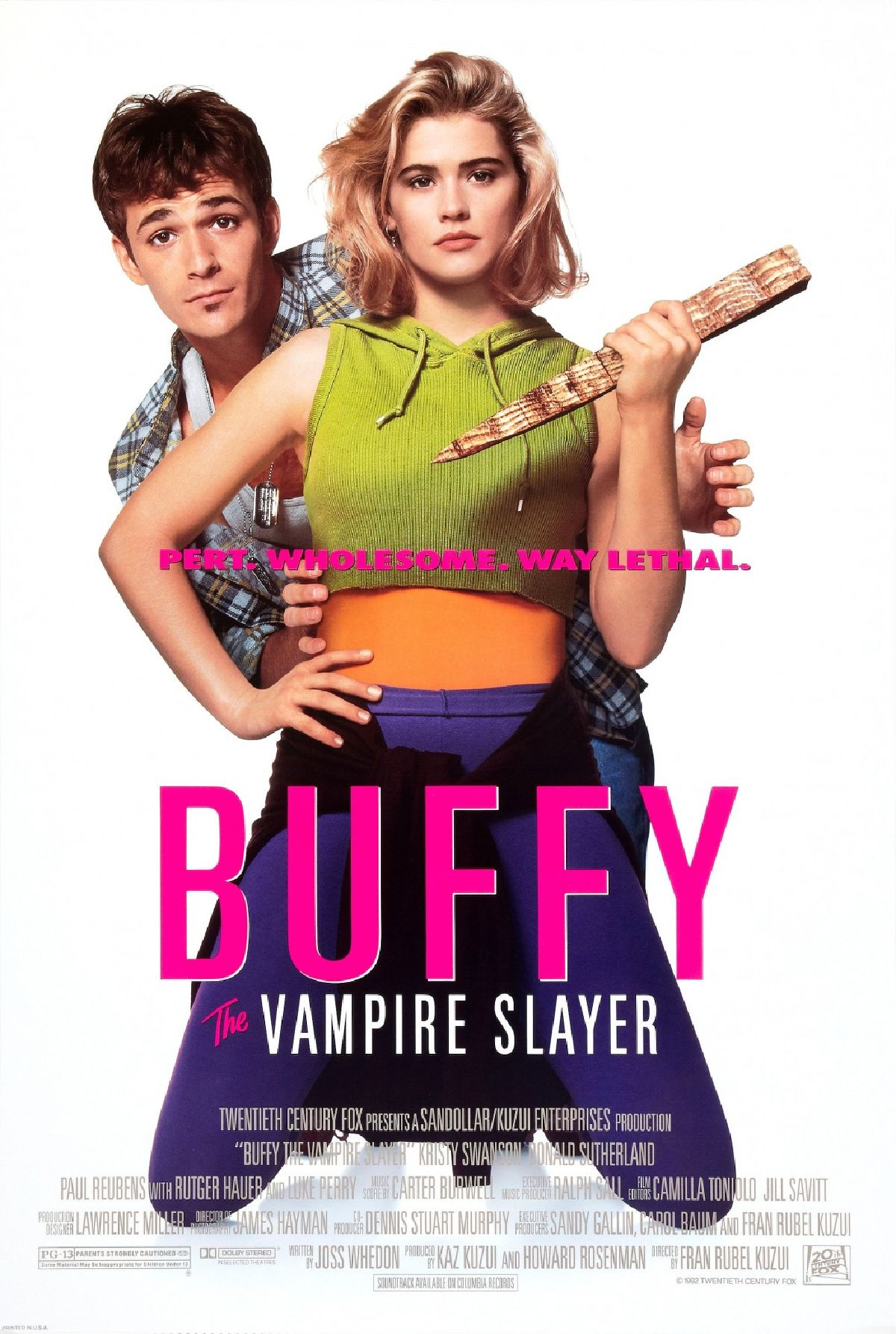 'Buffy the Vampire Slayer' movie poster