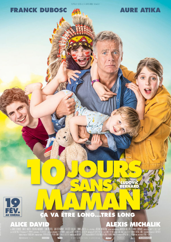 '10 Days With Dad (10 Jours Sans Maman)' movie poster