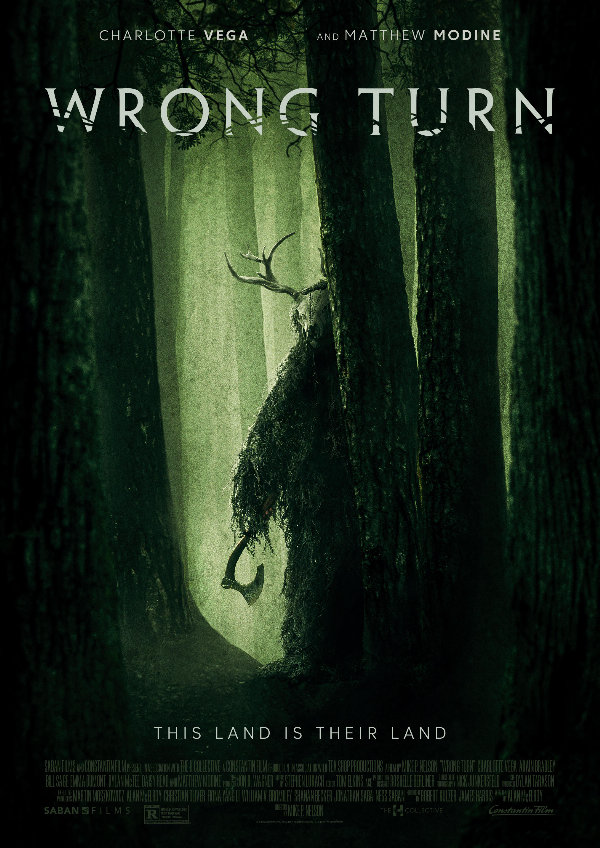 'Wrong Turn' movie poster