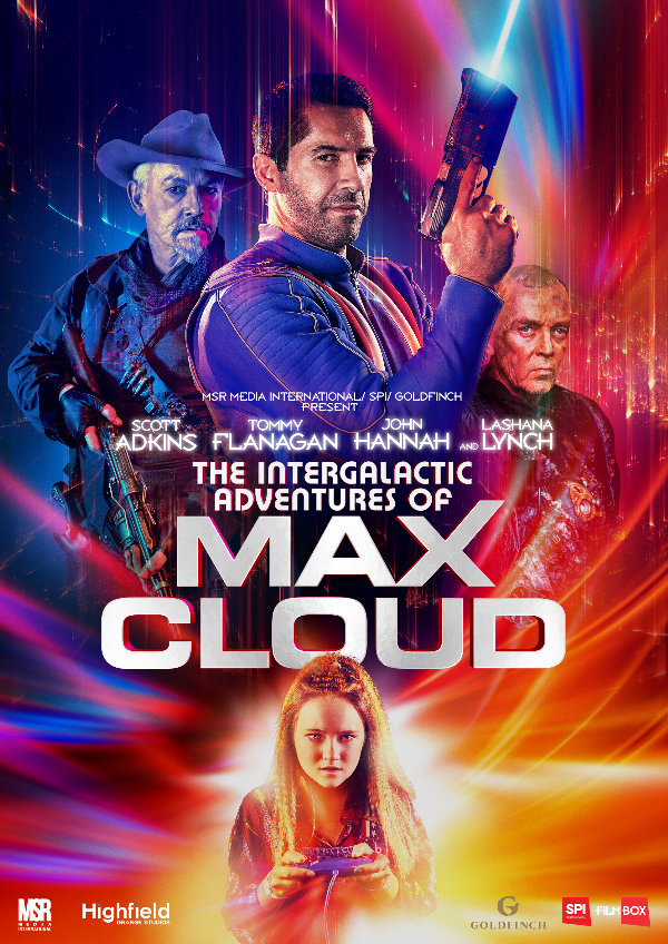 ' The Intergalactic Adventures of Max Cloud' movie poster