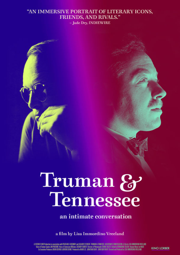 'Truman & Tennessee' movie poster