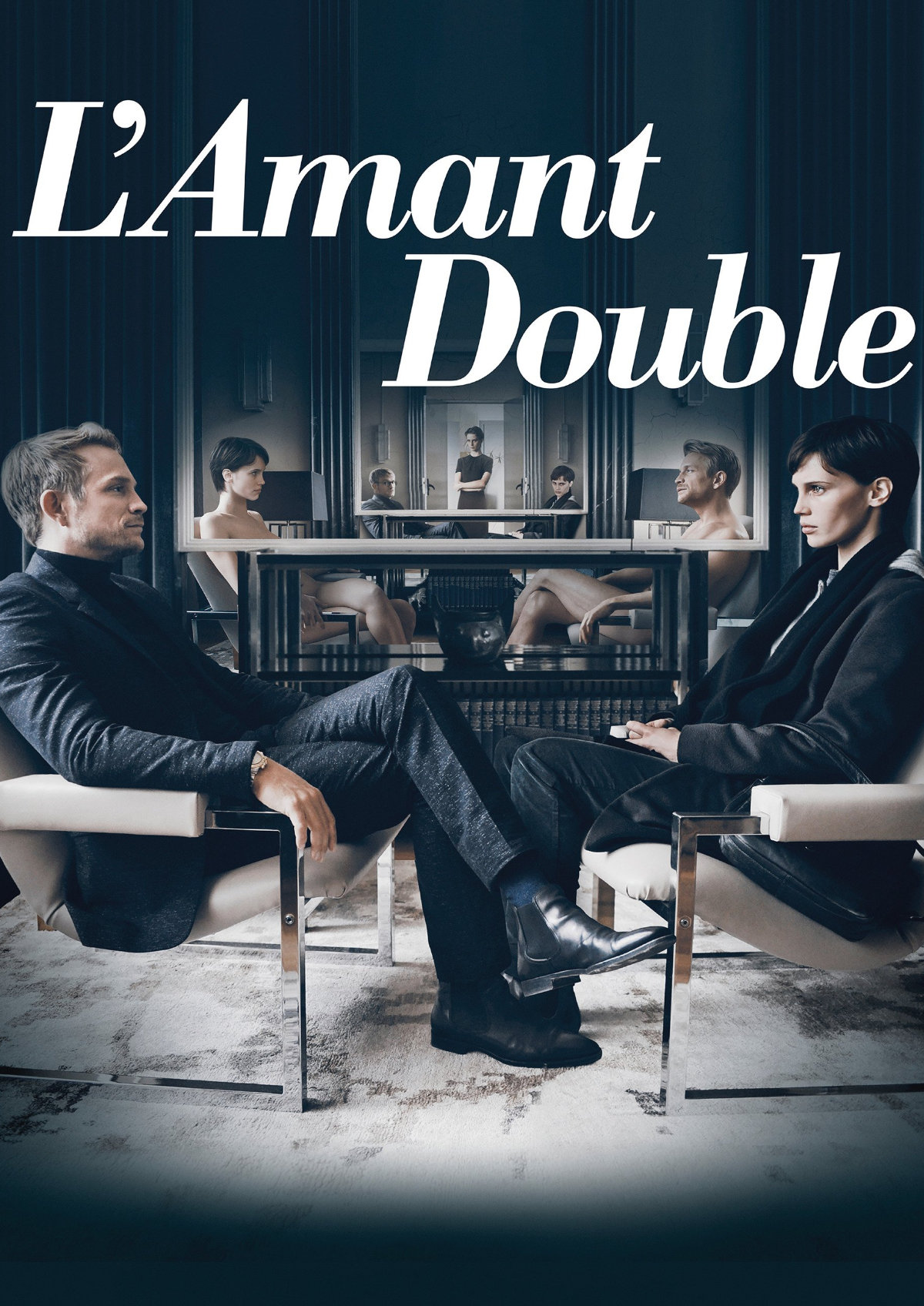 'L'Amant Double' movie poster