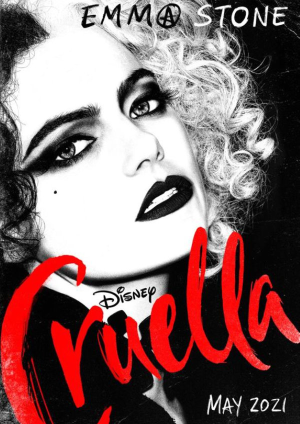 'Cruella' movie poster
