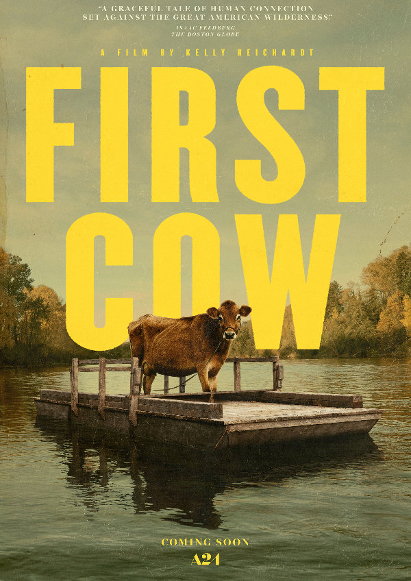 'First Cow' movie poster