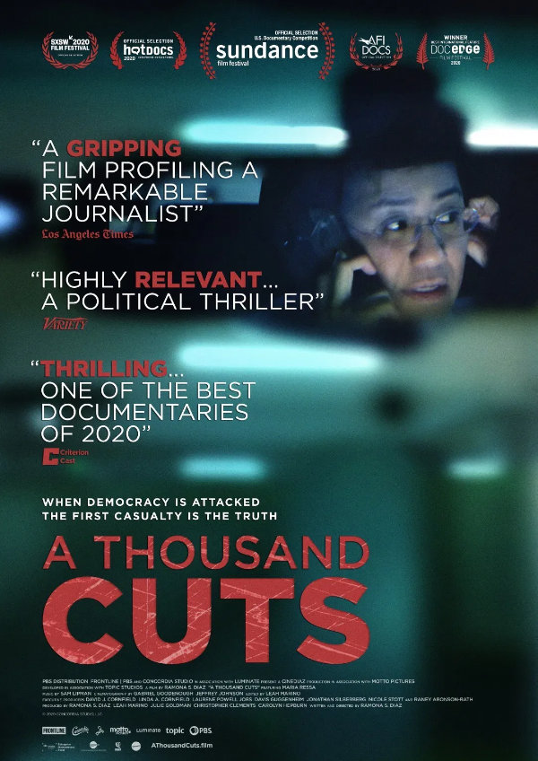 'A Thousand Cuts' movie poster