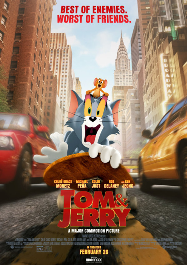 'Tom & Jerry The Movie' movie poster