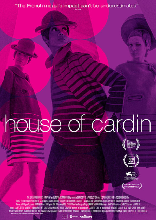 'House of Cardin' movie poster