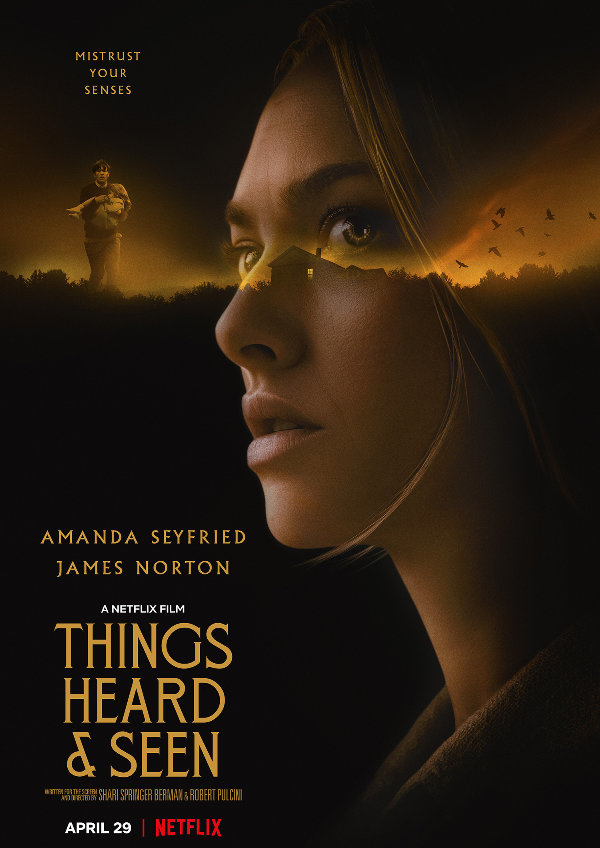 'Things Heard & Seen' movie poster