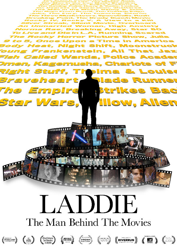 'Laddie: The Man Behind the Movies' movie poster