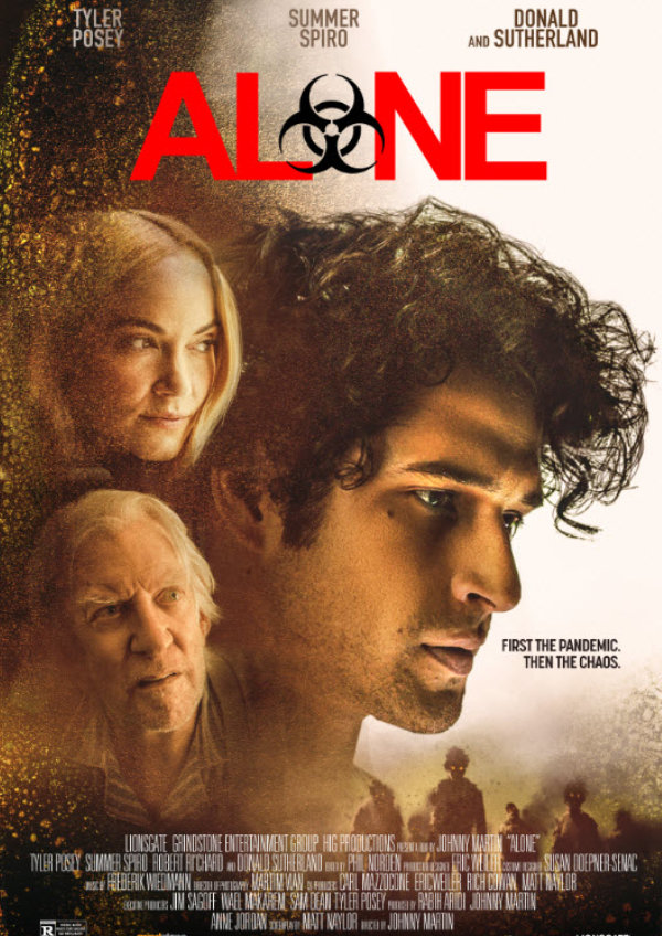 'Alone (Final Days/Pandemic)' movie poster