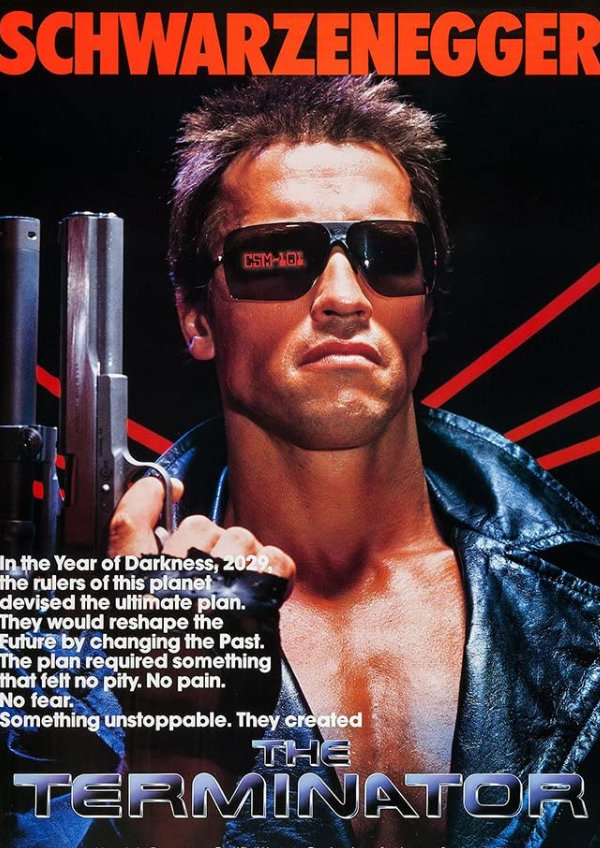 'The Terminator' movie poster