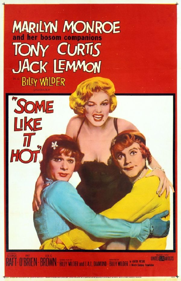 'Some Like It Hot' movie poster