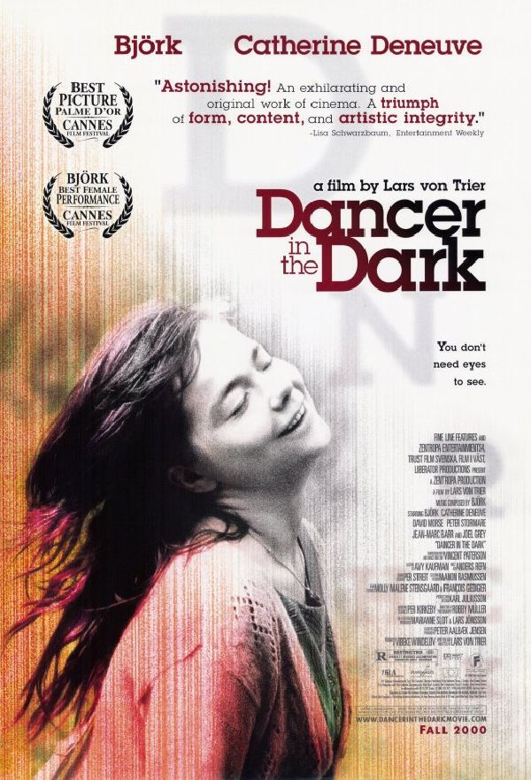 'Dancer In The Dark' movie poster