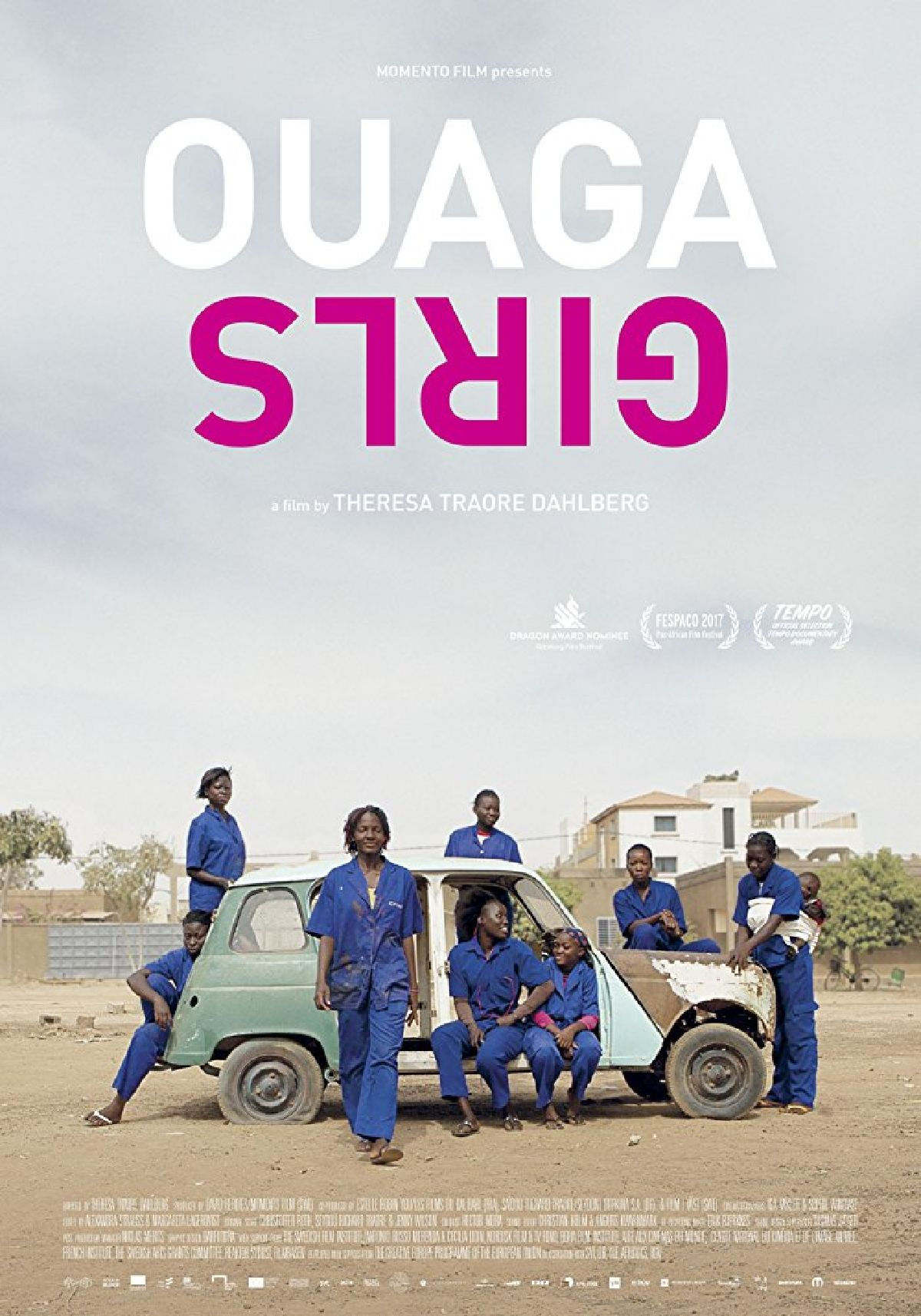'Ouaga Girls' movie poster