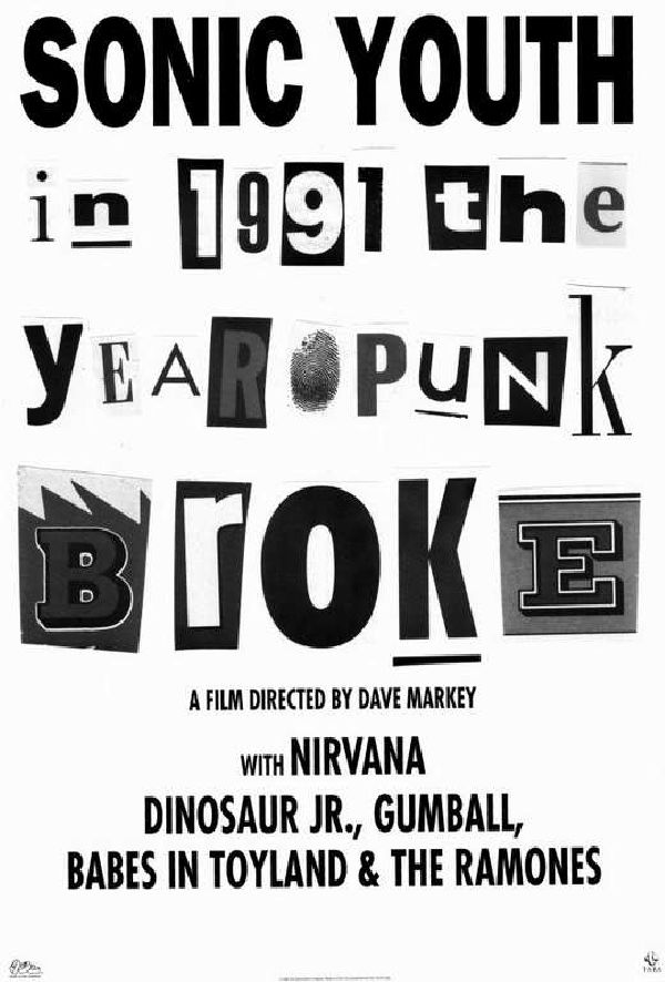 '1991: The Year Punk Broke' movie poster
