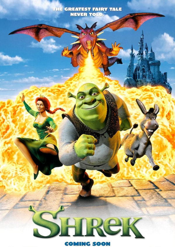 'Shrek' movie poster