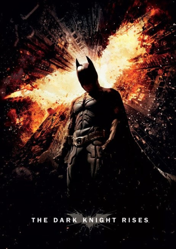 'The Dark Knight Rises' movie poster