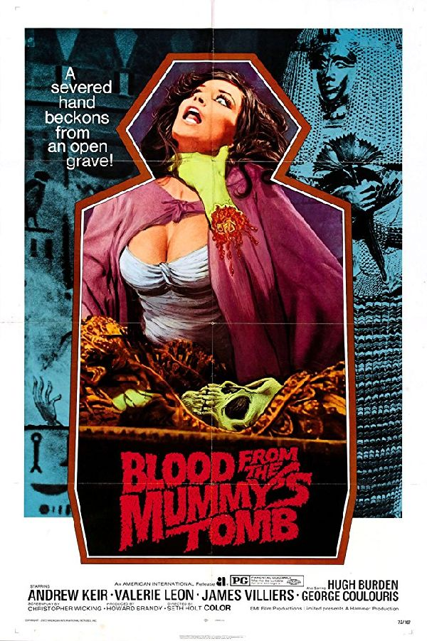 'Blood From The Mummy's Tomb' movie poster