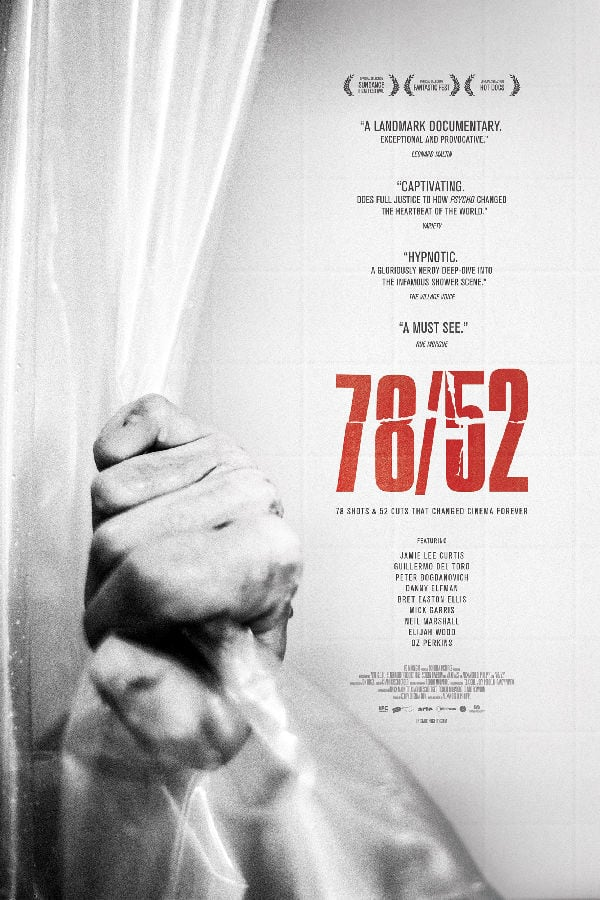 '78/52' movie poster
