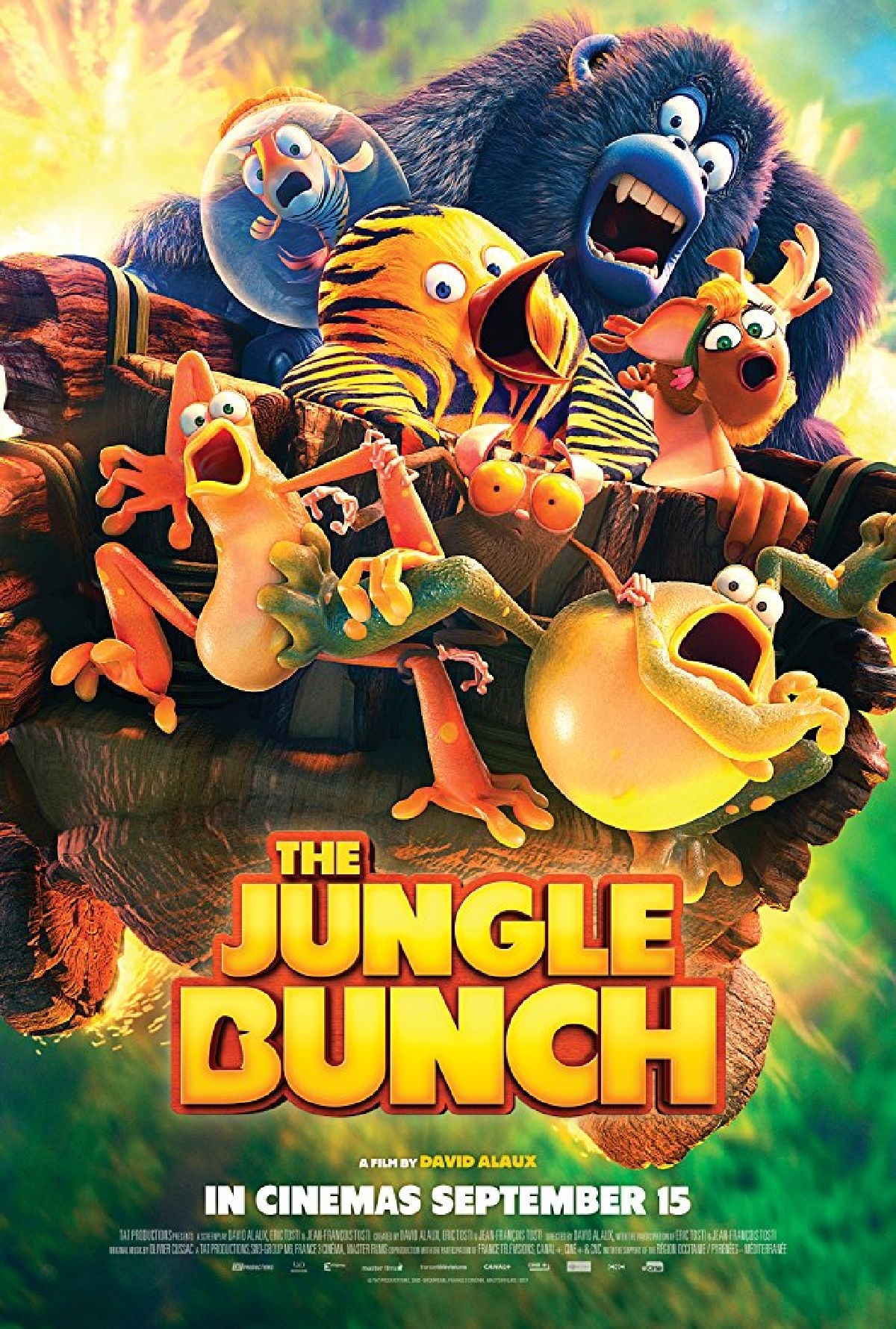 'The Jungle Bunch' movie poster