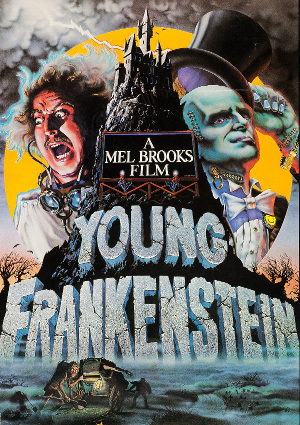 'Young Frankenstein' movie poster