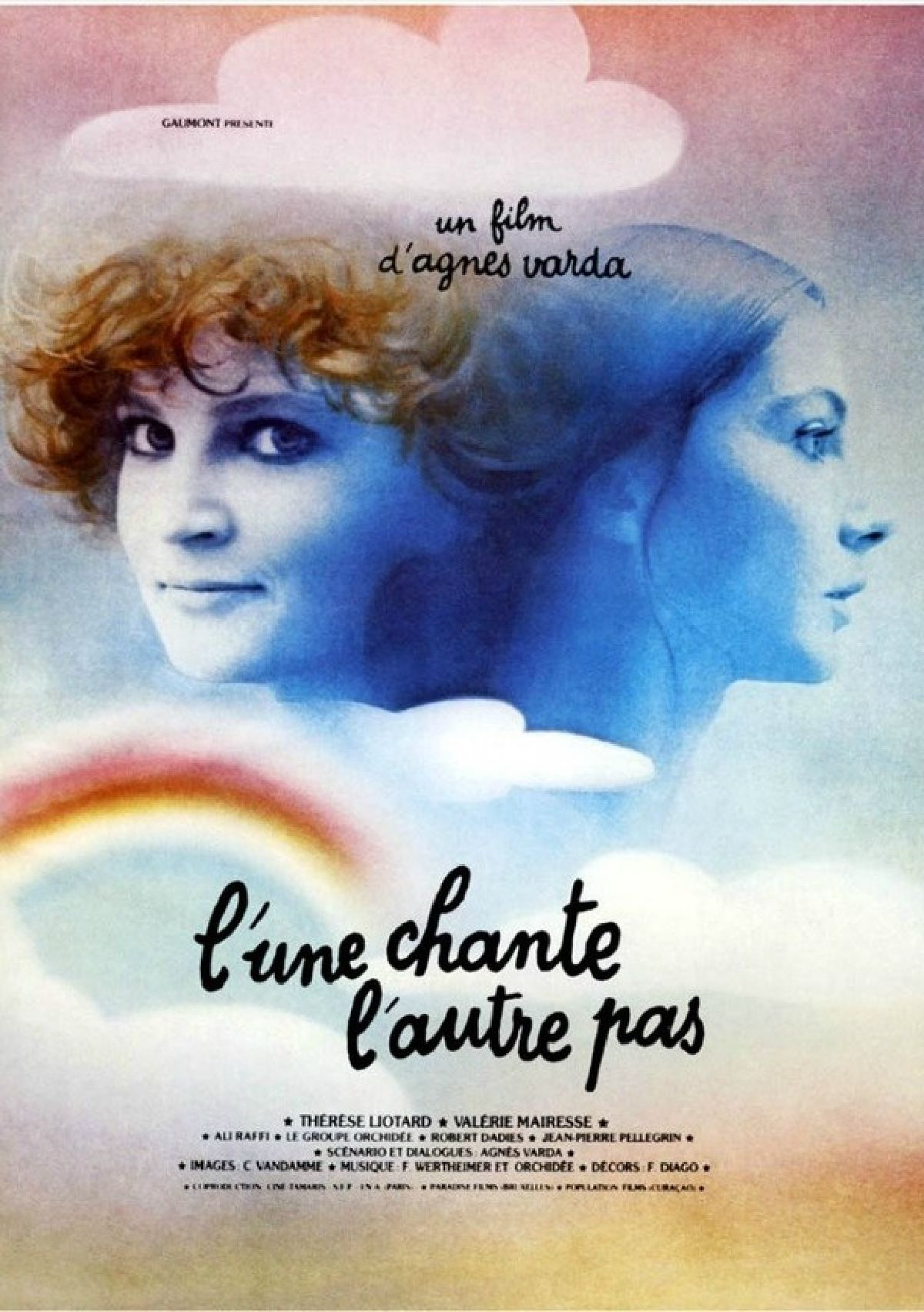 'One Sings, the Other Doesn't (L'Une chante, l'autre pas)' movie poster