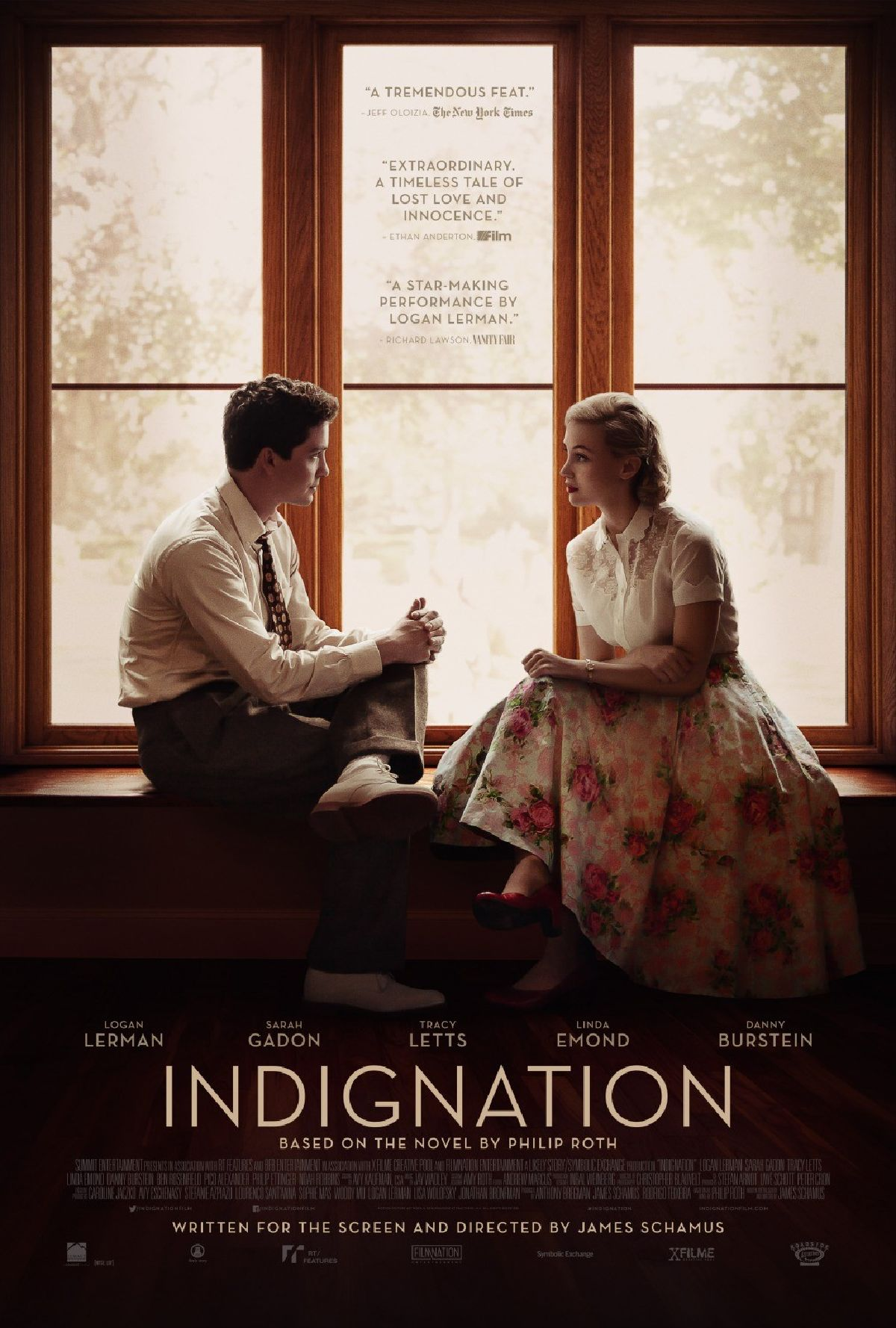 'Indignation' movie poster