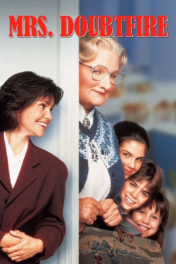 'Mrs Doubtfire' movie poster