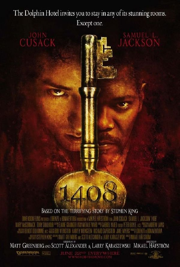 '1408' movie poster