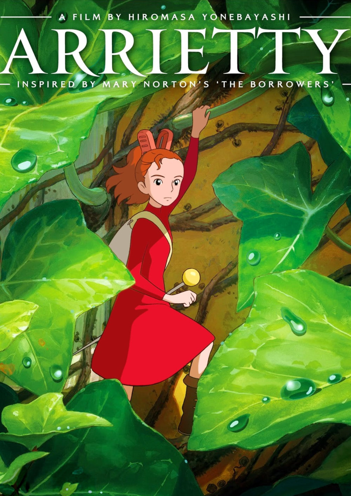 'The Secret World of Arrietty' movie poster