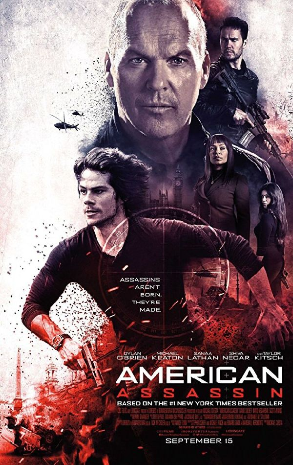 'American Assassin' movie poster