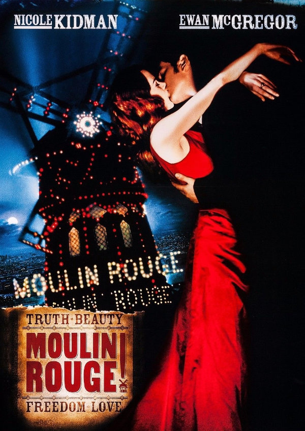 'Moulin Rouge!' movie poster