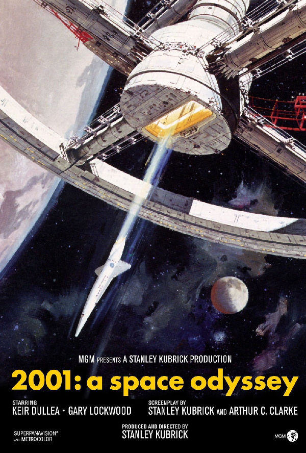 '2001: A Space Odyssey' movie poster
