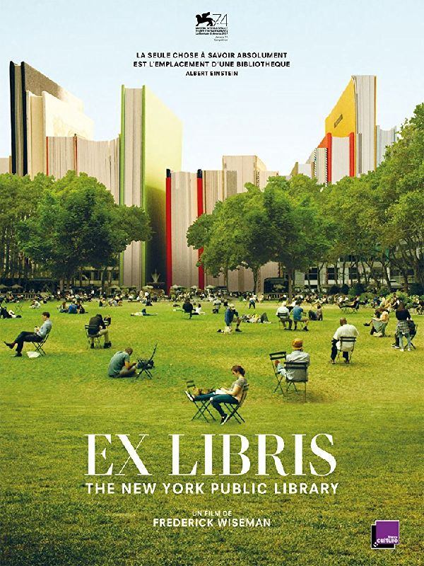 'Ex Libris: New York Public Library' movie poster