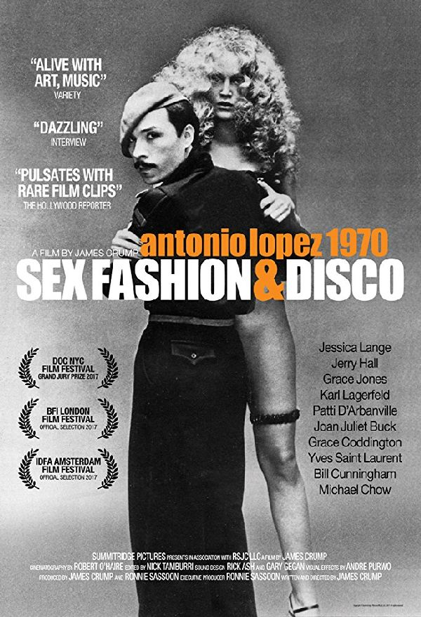'Antonio Lopez 1970: Sex, Fashion & Disco' movie poster