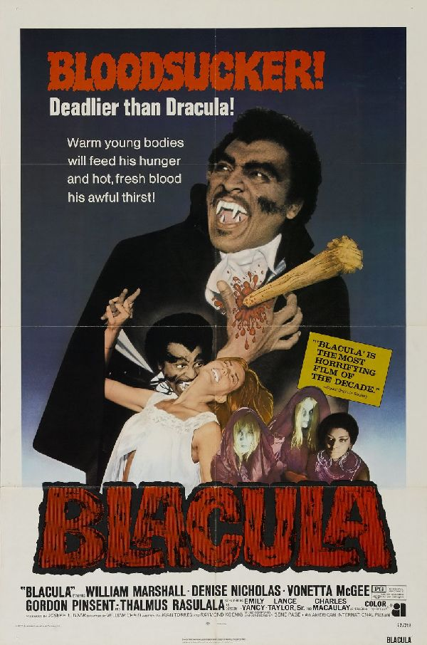 'Blacula' movie poster