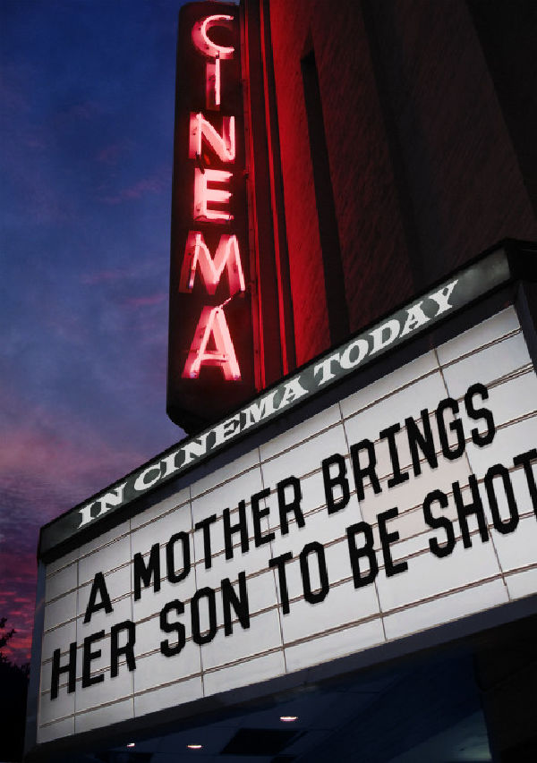 'A Mother Brings Her Son To Be Shot' movie poster