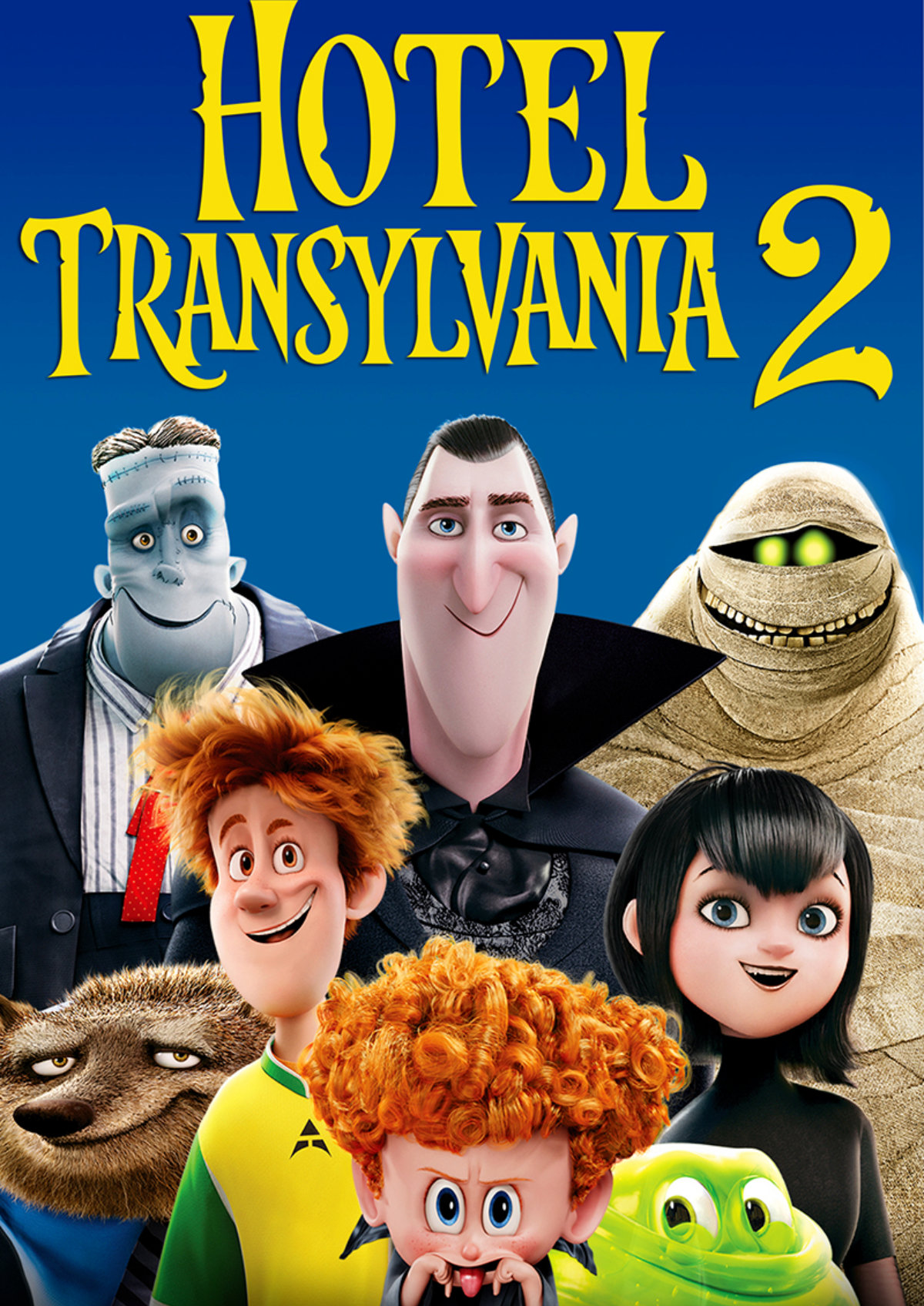 'Hotel Transylvania 2' movie poster