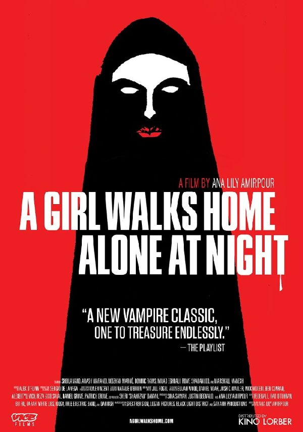 'A Girl Walks Home Alone At Night' movie poster