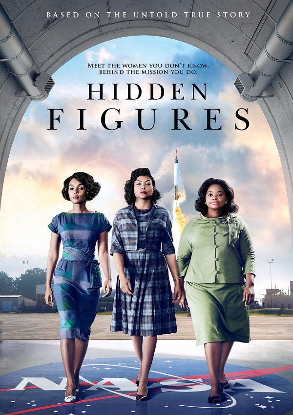 'Hidden Figures' movie poster